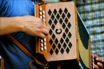 Accordian, ready for the folk music